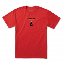 PRM TEE KIKKOMAN RED CAP RD L - Click for more info