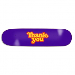 THNKYU DECK LOGO PURPLE 8.0 - Click for more info